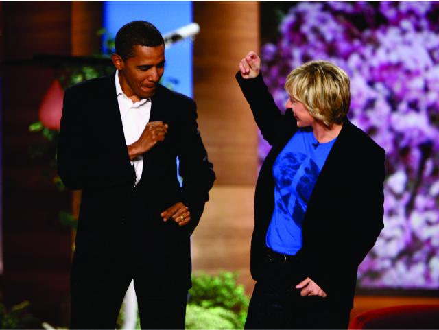 Obama dança no programa de Ellen DeGeneres || Créditos: Divulgação/The Ellen DeGeneres Show