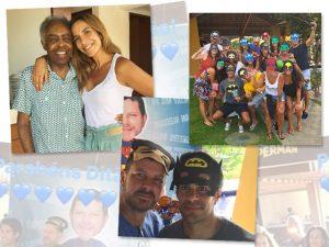 Ivete Sangalo, Gilberto Gil e mais na festa surpresa de Dito Espinheira
