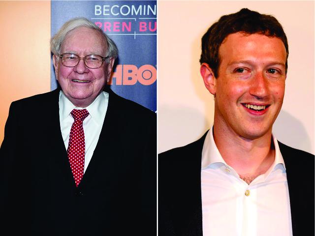 Warren Buffett e Mark Zuckerberg