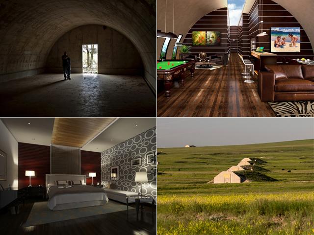 O bunker de luxo em South Dakota    Créditos: Divulgação/Vivos Group