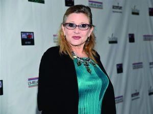 Carrie Fisher estará em pelo menos mais um filme da saga 'Guerra nas Estrelas'