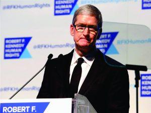 Sem atingir metas, Tim Cook da Apple tem bônus cortado pela empresa