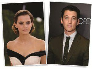 "Emma Watson e Miles Teller culpam agentes por terem ficado de fora de ""La La Land"""