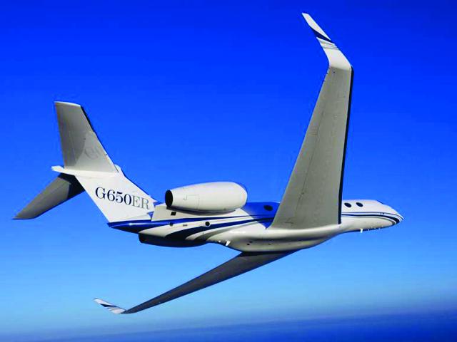 O G650ER, da Gulfstream
