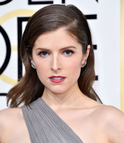Anna Kendrick arrives at the 74th Annual Golden Globe Awards at The Beverly Hilton Hotel on January 8, 2017 in Beverly Hills, California. (Photo by Steve Granitz/WireImage)