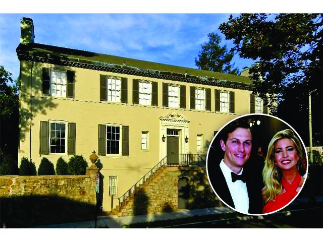 O novo endereço de Ivanka Trump e Jared Kushner em Washington, D.C.