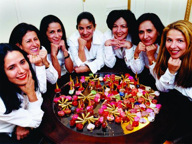 As irmãs Jocely, Janea, Joyce, Juracy, Jussara e Judseia || Créditos: Divulgação