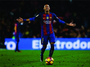 Neymar bate Messi e é eleito o jogador de futebol mais valioso do mundo