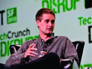 Evan Spiegel, do Snapchat, dá upgrade no escritório do app em Londres