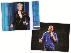 """Dana White, do UFC, critica Meryl Streep: """"senhorinha atrevida de 80 anos"""""""
