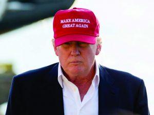 Donald Trump ainda nem assumiu a presidência e já tem slogan para 2020