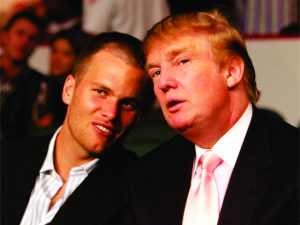 Alô? Tom Brady ligou para parabenizar Donald Trump