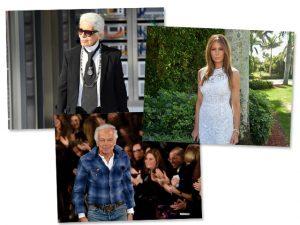 Karl Lagerfeld se une a Ralph Lauren para vestir Melania na posse de Trump