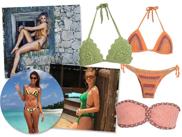 Grazi Massafera, Helena Bordon e Marina Ruy Barbosa com seus modelos || Créditos: Reprodução Instagram/Divulgação