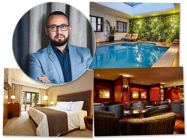 Gerente geral Ruben Leme responsável pelo hotel em São Paulo Créditos: Divulgação