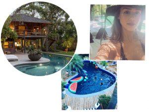 Brasileirinho a vapor: Jessica Alba constrói piscina inspirada em Trancoso