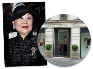 Dona da Lanvin está em conversas com fundo árabe sobre venda da maison