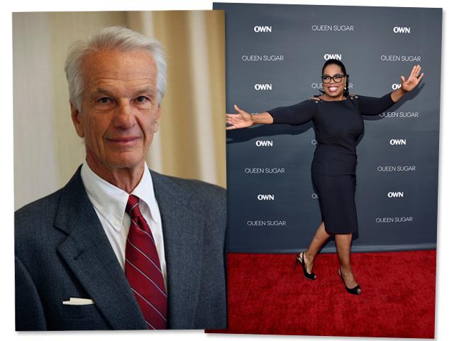 Jorge Paulo Lemann e Oprah Winfrey