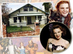 A casa onde Judy Garland cresceu na Califórnia está à venda