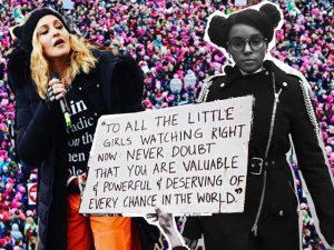 Madonna, Katy Perry e mais na Marcha das Mulheres em Washington D.C.