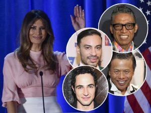 Estilistas famosos disputam look de Melania Trump na posse do marido