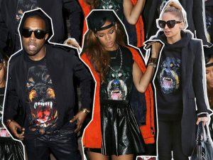 Grrrrrr… Givenchy relança icônica estampa de Rottweiler. Hit total…
