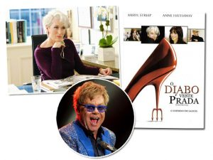 """Elton John vai adaptar """"O Diabo Veste Prada"""" para a Broadway"""