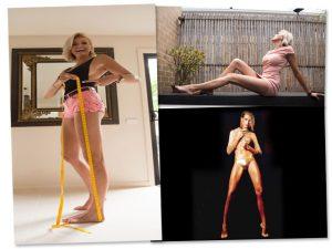 Australiana busca recorde de pernas mais longas que já foi de Ana Hickman