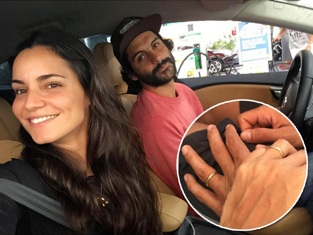 Renata Vanzetto e Cassiano Bonjardim: noivos! || Créditos: Reprodução / Instagram