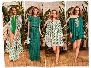 Martha Medeiros e sua 1ª linha de beachwear dominada por mood tropical