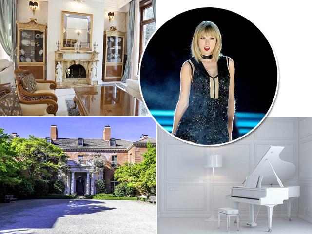 Taylor Swift e a mansão que já foi de Samuel Goldwyn