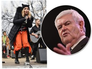 Cacique da política americana quer ver Madonna atrás das grades