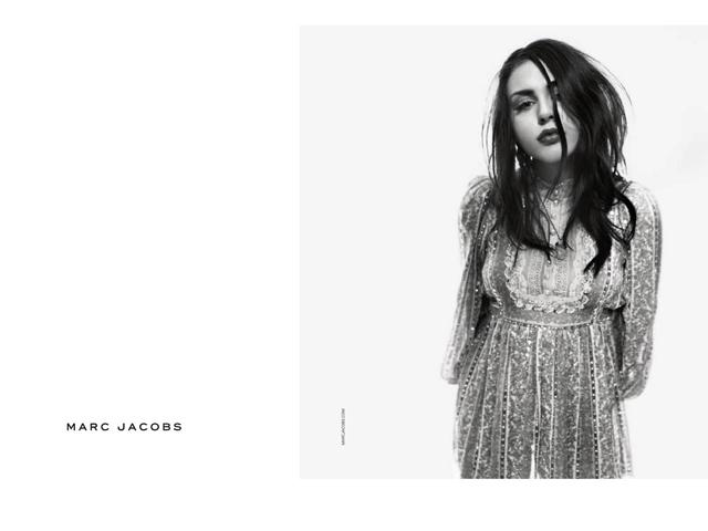 Frances Bean Cobain na campanha de verão da Marc Jacobs || Créditos: Reprodução / Instagram