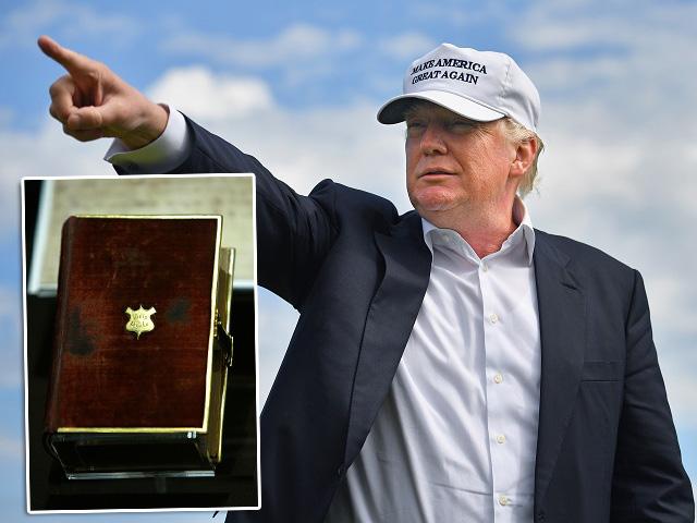 Trump e a Bíblia de Lincoln