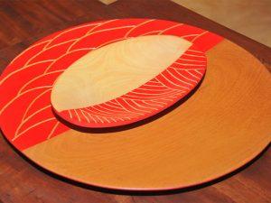 Lá em Casa! Charme à mesa com objetos de madeira de tatajuba da MTrancoso