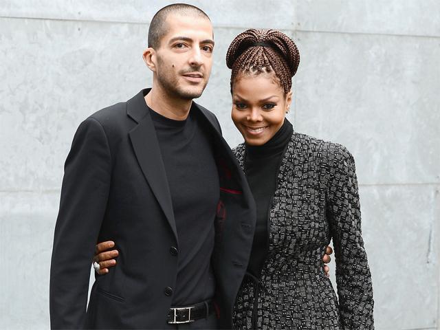 Wissam Al Mana e Janet Jackson: o primeiro filhos deles nasceu nessa terça-feira!    Créditos: Getty Images