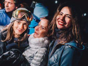 Glamurettes bombam em après-ski em Aspen. Aos cliques!