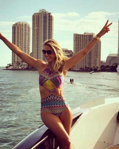 Ticiane Pinheiro em Miami    Créditos: Reprodução Instagram