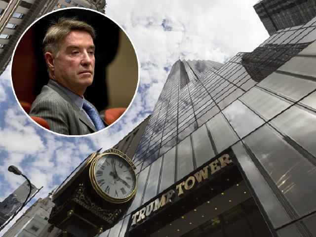 Eike Batista e a Trump Tower, em NY