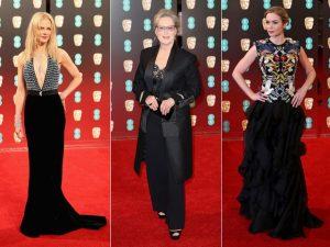 De Nicole Kidman a Kate Middleton, o tapete vermelho do Bafta em Londres