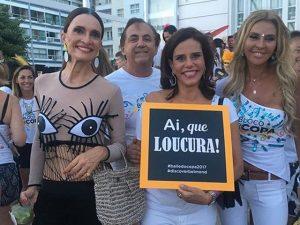 Bloquinho do Copacabana Palace: de Gloria Maria a Narcisa Tamborindeguy, ui!