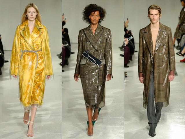 4e78ec2081211 Três looks da primeira coleção de Raf Simons para a Calvin Klein     Créditos