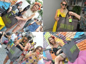 Glamurettes mais felizes com mimos by Santa Lolla no Pré-Carnaval Glamurama
