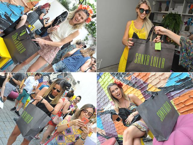 Glamurettes mais felizes com mimos by Santa Lolla no Pré-Carnaval ... 919b68c502