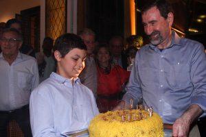 Aniversário de 70 anos Jorge Landmann em São Paulo
