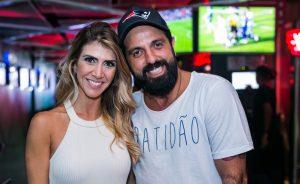 Aniversário de Tico Sahyoun no Soul Sports Bar, na Vila Nova Conceição