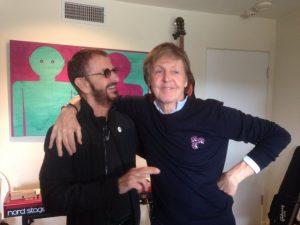 Ringo Starr e Paul McCartney gravam juntos pela primeira vez em sete anos