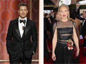 Revista americana afirma que Brad Pitt e Kate Hudson estão namorando