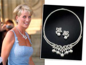 Colar que pertenceu à princesa Diana vai a leilão por quase R$ 40 milhões