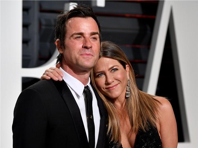 Juestin Theroux e Jennifer Aniston